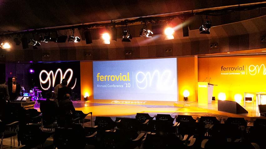 Annual meeting Ferrovial Agroman - convenciones y congresos