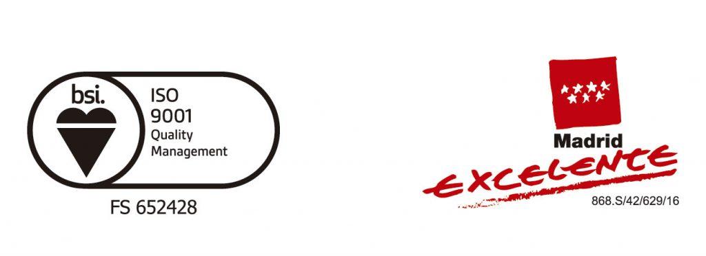 Logos ISo y Madrid excelente