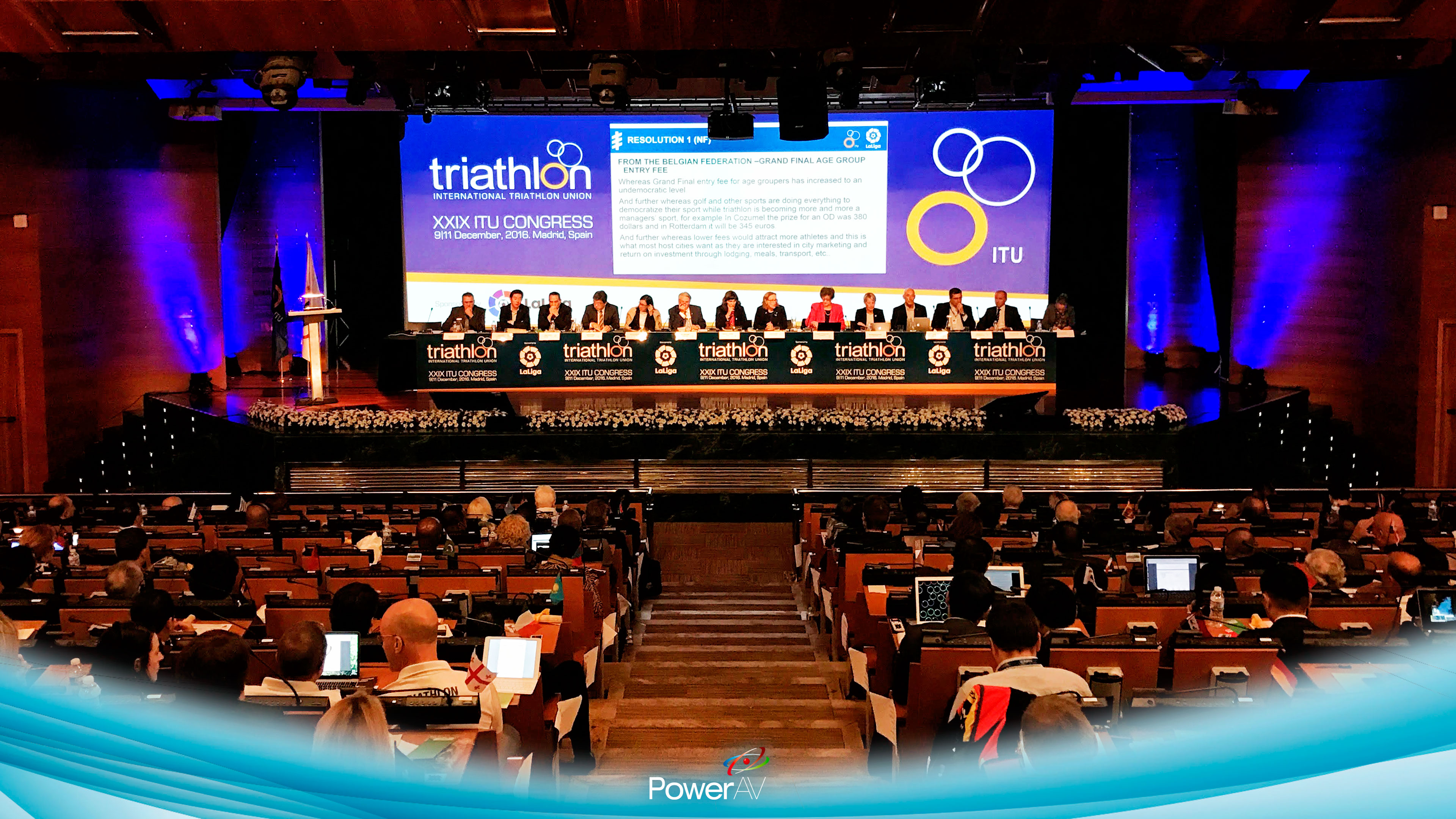 Congreso ITU - Triathlon
