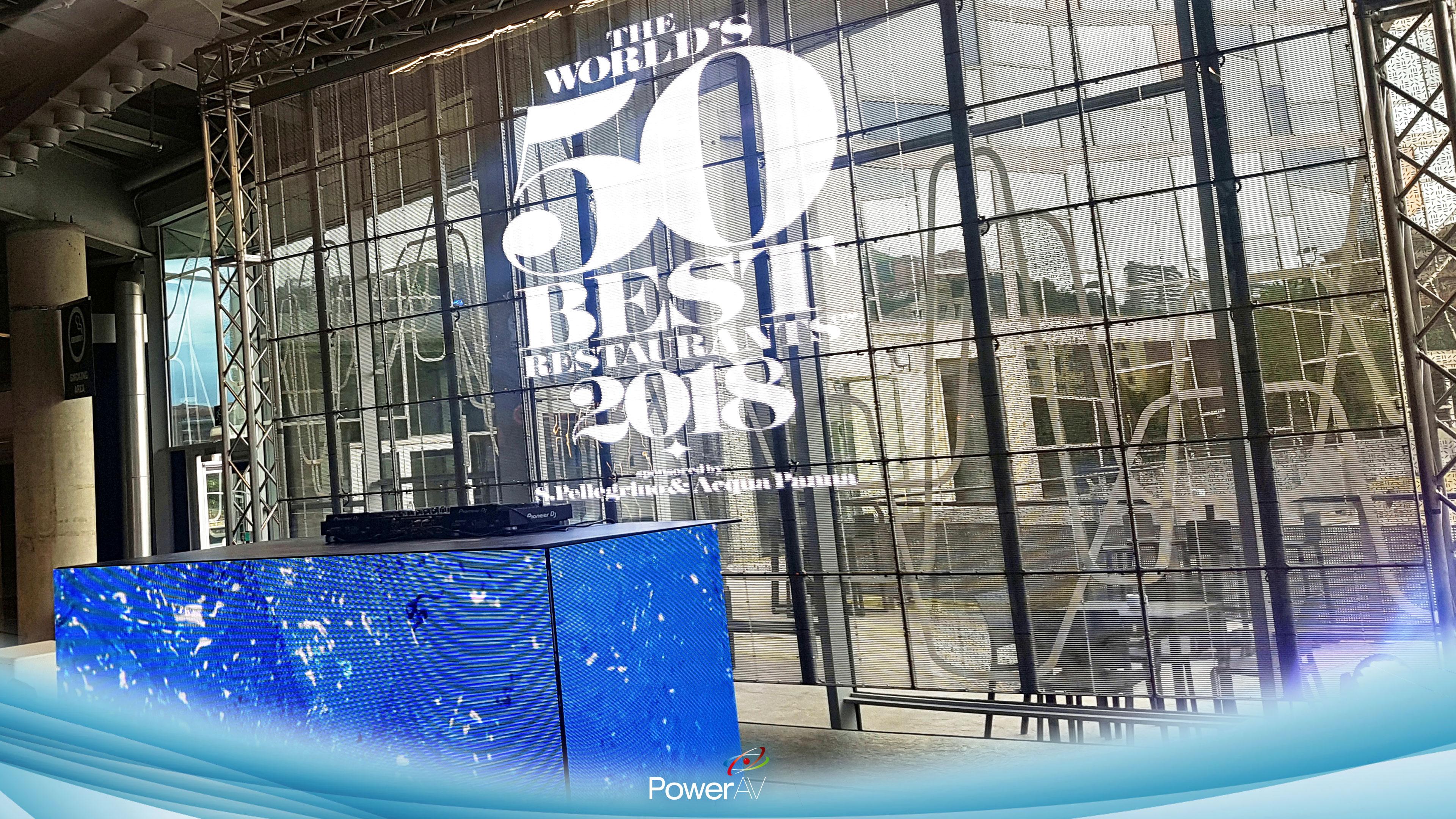 The Worlds 50 Best Restaurants Bilbao 2018 Power Av